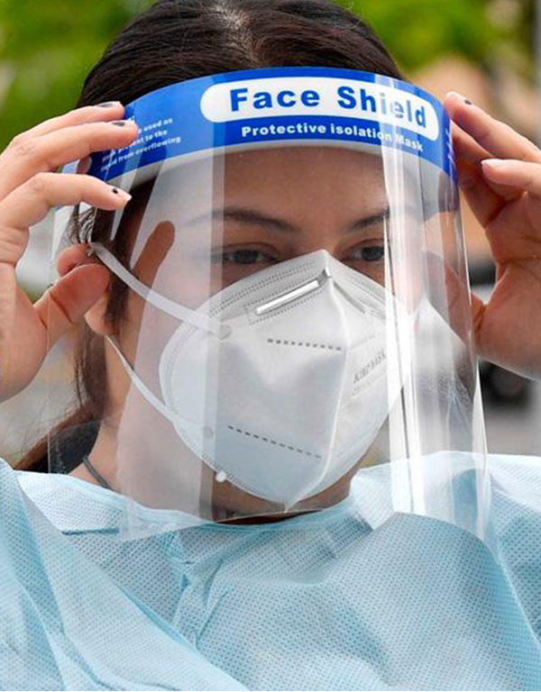 Face Shield, transparenter Gesichtsmaskenschutz